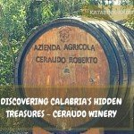 Discovering Ceraudo Winery in Calabria