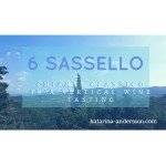 6 Sassello in a Vertical Wine Tasting