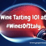 Wine Tasting 101 at #WinesOfItaly