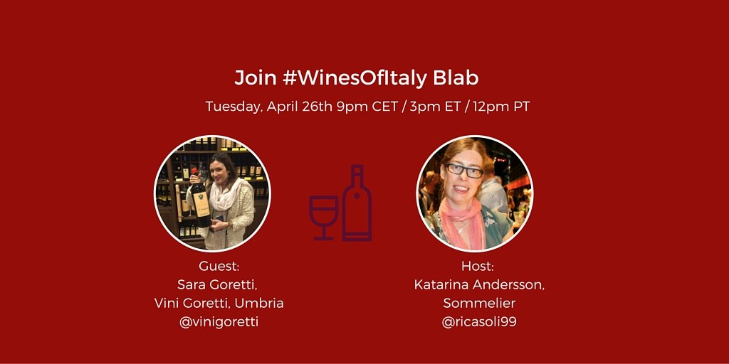 Talking Wine in Umbria with Sara Goretti from Vini Goretti