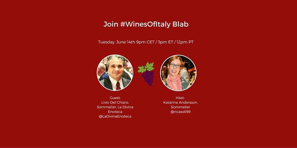 #WinesOfItaly with Livio Del Chiaro talking Gaiole Wines