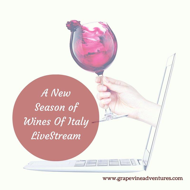 A New Season of Wines Of Italy LiveStream