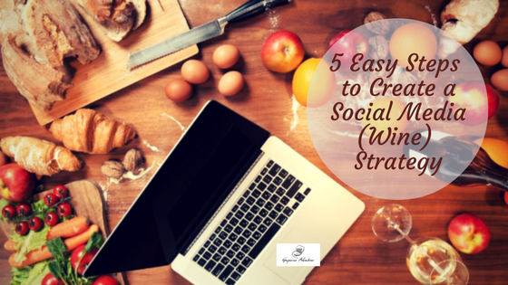 As you can see on the featured image, creating a strategy can be seen a bit like brainstorming and cooking all together. With a glass of wine by your side, of course!