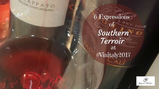 6 Expressions of Southern Terroir at #Vinitaly2017