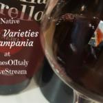 4 Native Grape Varieties of Campania at #WinesOfItaly #LiveStream
