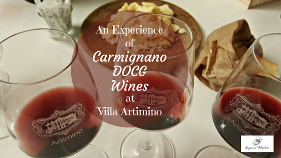 An Experience of Carmignano DOCG Wines at Villa Artimino