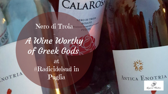 Nero di Troia – A Wine Worthy of Greek Gods at #Radicidelsud2017 in Puglia