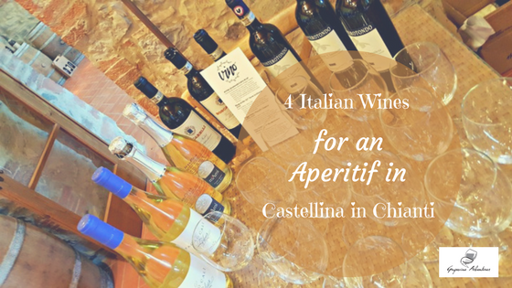 4 Italian Wines for an Aperitif in Castellina in Chianti