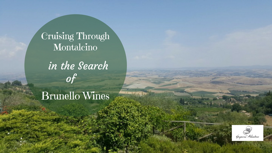 Cruising Through Montalcino in the Search of Brunello Wines