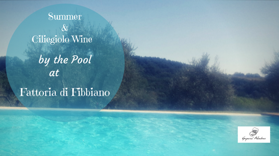 Summer & Ciliegiolo Wine by the Pool at Fattoria di Fibbiano