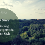 A Sirio – 20 Years Marking the Sangervasio Wine Style