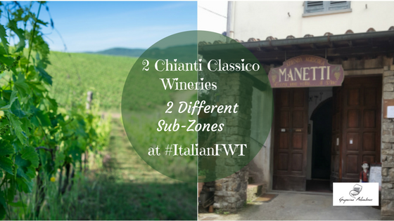 2 Chianti Classico Wineries, 2 Different Sub-Zones at #ItalianFWT
