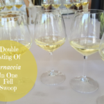 A Double Tasting of Vernaccia In One Fell Swoop