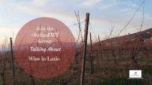 Vineyard in Cori in Lazio