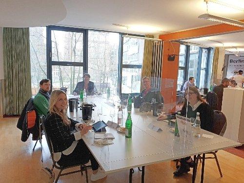 Wine Jury at Berliner Wine Trophy