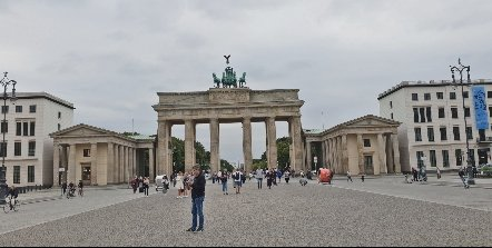 Brandenburg in Berlin, Germany